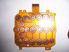 Button  Flexible Circuits board