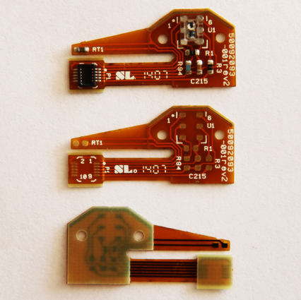 Temperature Controller Flexible Circuits