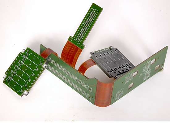 12 Layer Rigid-Flex PCB with Heat Sink