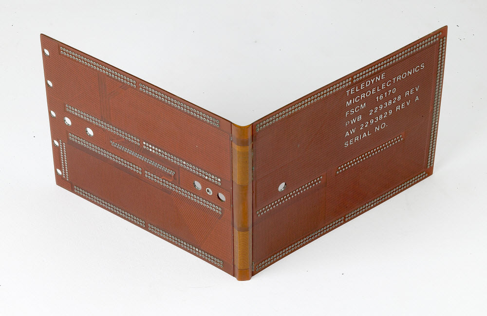 12 Layer Flex Circuit Board with Book Binding